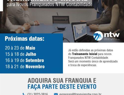 NTW Franquia Contábil realiza treinamento para novos franqueados no mês de maio