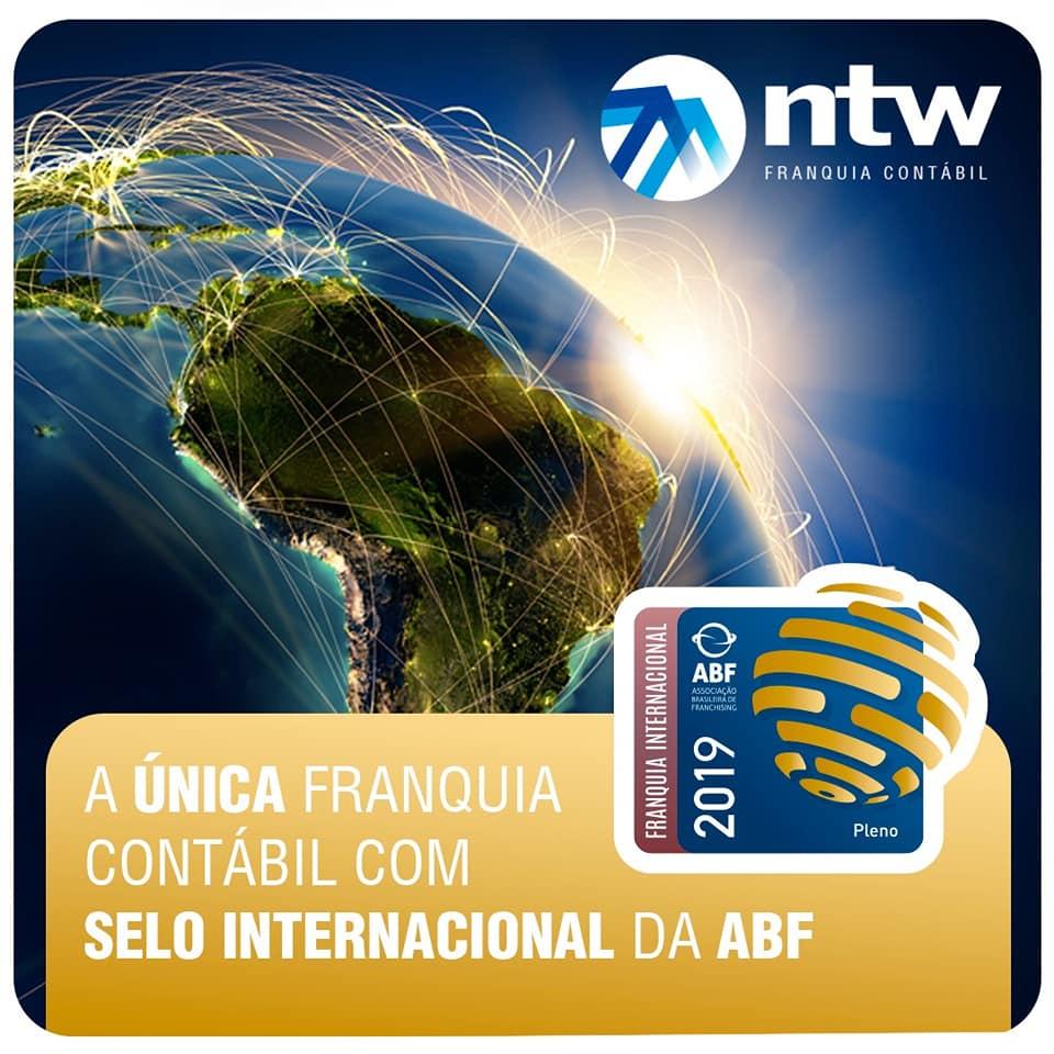 Recebemos o Certificado de Franquia Internacional 2019 da ABF