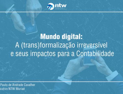 Mundo digital: A (trans)formalização irreversível e seus impactos para a Contabilidade