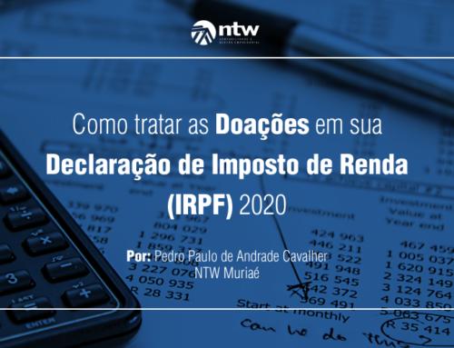 Como tratar as Doações em sua declaração de Imposto de renda (IRPF) em 2020