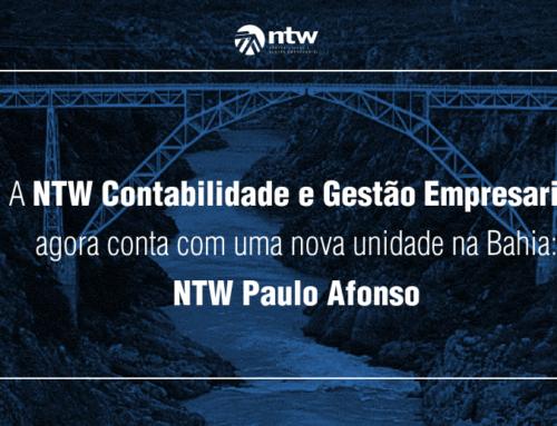 A NTW Contabilidade e Gestão Empresarial agora conta com uma unidade em Paulo Afonso