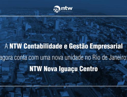 A NTW Contabilidade e Gestão Empresarial agora conta com mais uma unidade no Rio de Janeiro