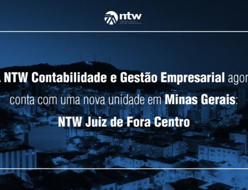 A NTW Contabilidade e Gestão Empresarial agora conta com mais uma nova unidade em Minas Gerais