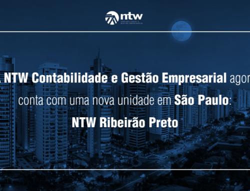 A NTW Contabilidade e Gestão Empresarial conta com mais uma unidade no estado de São Paulo