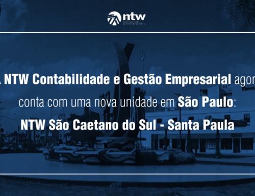 A NTW Contabilidade e Gestão Empresarial agora conta com mais uma nova unidade em São Paulo