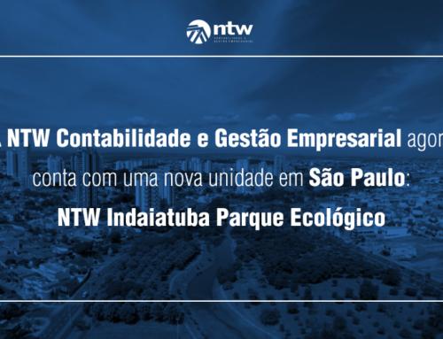 A NTW Contabilidade e Gestão Empresarial agora conta com mais uma unidade em São Paulo